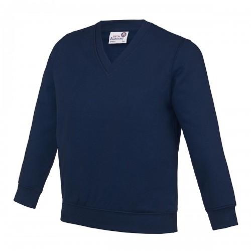 V Neck - Sweatshirt (Age 3 - 13)